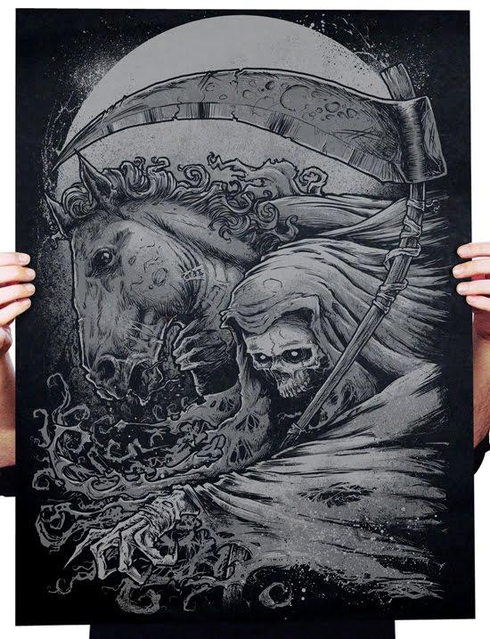 Inside The Rock Poster Frame Blog Godmachine She Is Dead