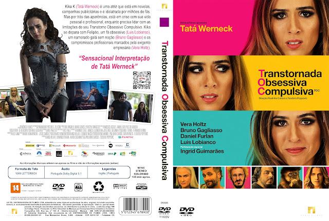 Capa DVD TOC Transtornada Obsessiva Compulsiva [Exclusiva]