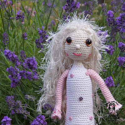 crochet toy, crochet fairy, crochet decoration, crochet doll, vendula maderska design, magic with hook and needles