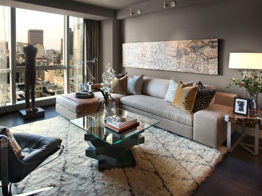 Moroccan Living Room Design Theme