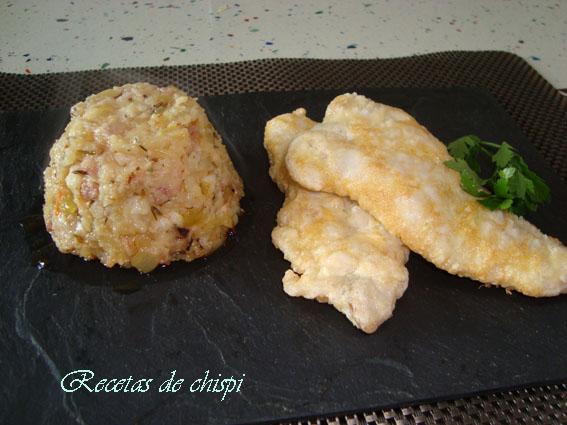Pastelitos De Patatas Con Merluza Rebozada