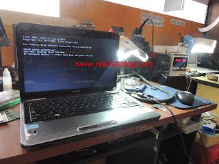 Serfis Laptop Toshiba L745 Ganti Chipset