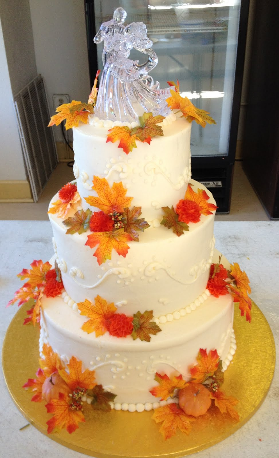 Party People Event Decorating Company: Fall Wedding