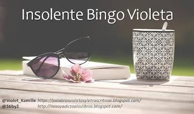 Reto de lectura: Insolente Bingo Violeta