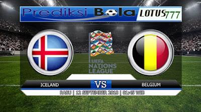 PREDIKSI ICELAND VS BELGIUM 12 SEPTEMBER 2018