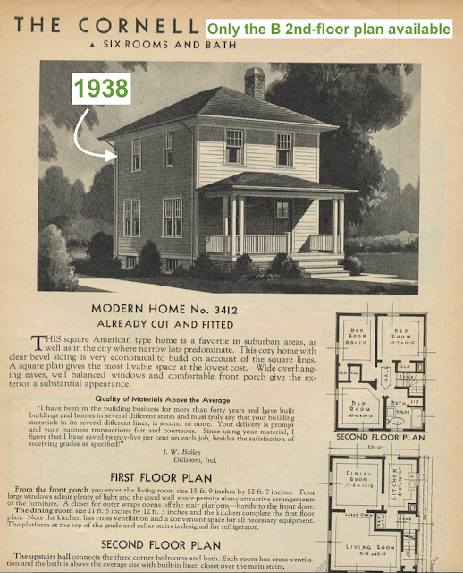 Sears Cornell 1938 Sears Modern Homes Catalog