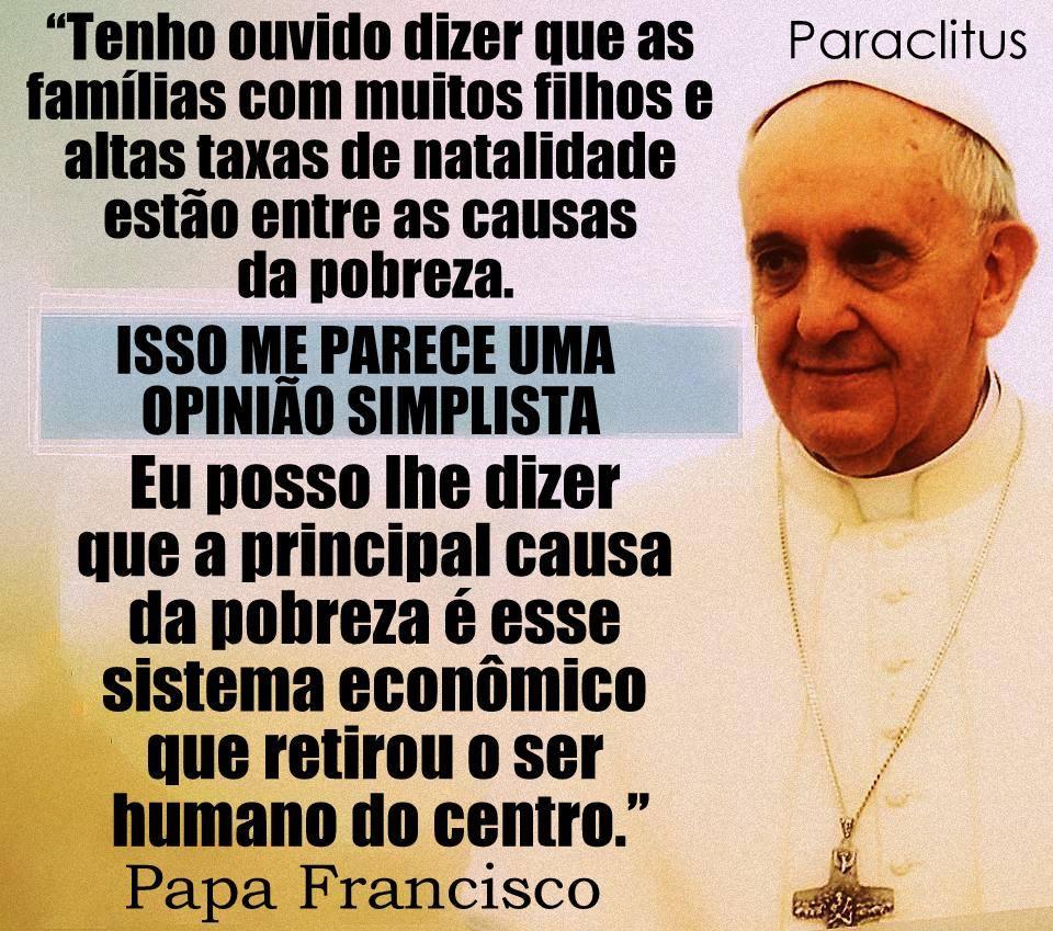 Divulgação Rc Jequié Mensagens Sociais Papa Francisco