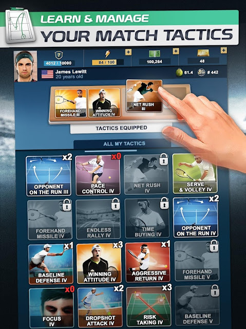 MOD APK (Unlimited Gold) TOP SEED Tenis Manager v2.32.17