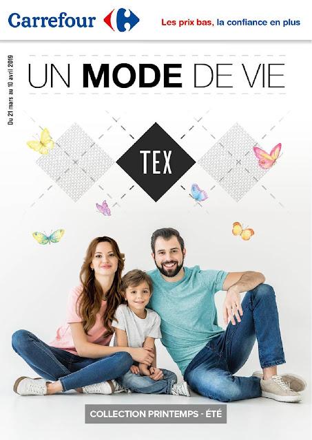 catalogue tex maroc carrefour printemps 2019