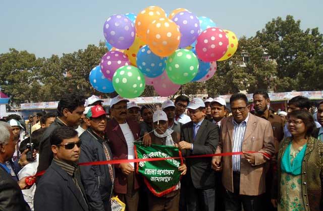 Jamalpur started the week-long Regional SME Product Fair