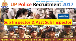 UP Police Recruitment 2017 Apply for 760 SI & ASI Jobs