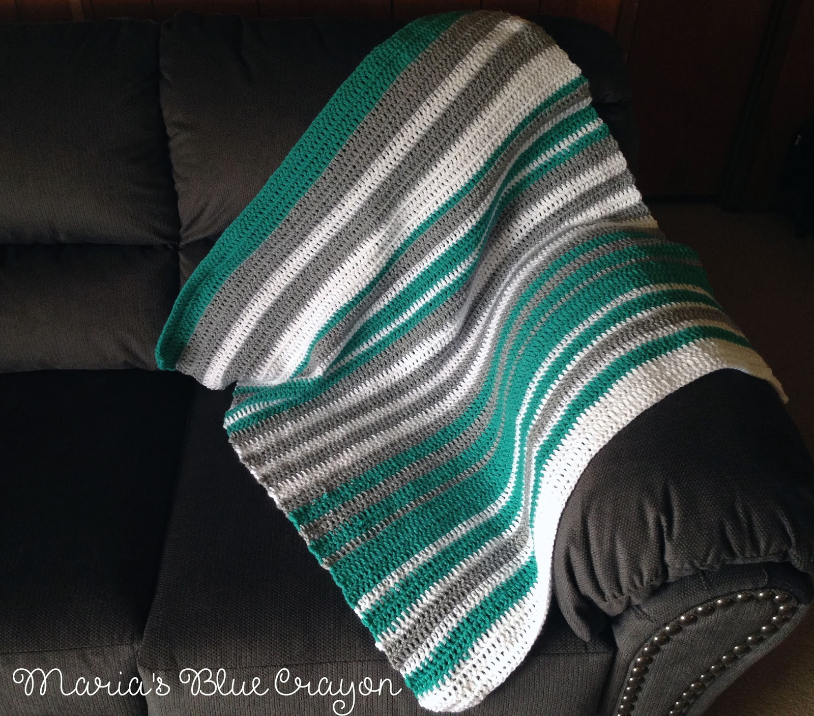 How To Guide To Designing Your Own Crochet Striped Blanket Marias