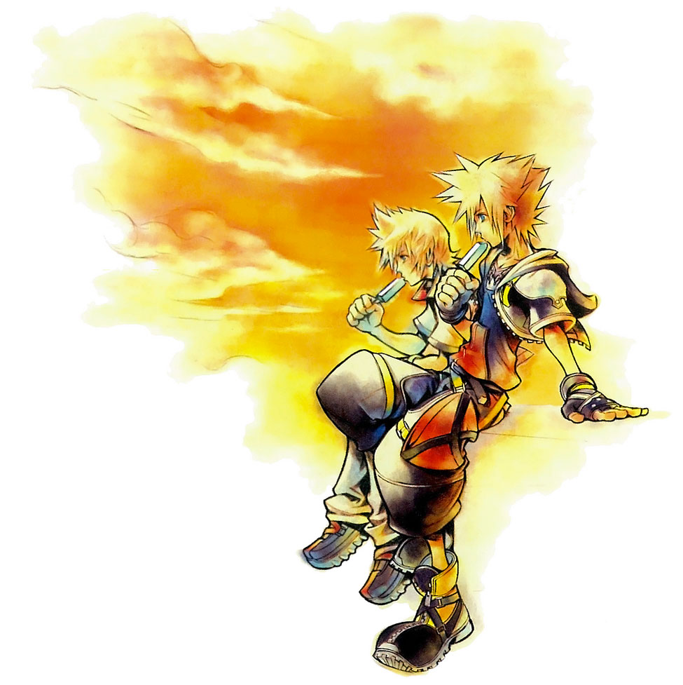 Sex roxas and hearts kingdom sora