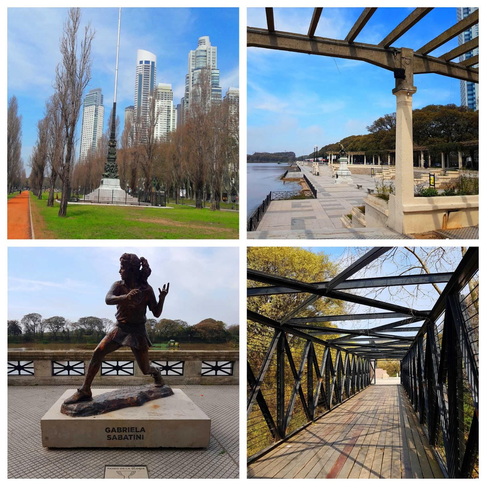 Parque Costanera Sur em Buenos Aires.
