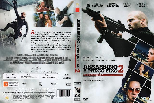 Capa DVD Assassino a Preço Fixo 2 A Ressurreição