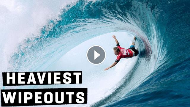 HEAVIEST WIPEOUTS 2014 Billabong Pro Tahiti ft Mick Taj Bede Jordy Kai Otton WSL REWIND