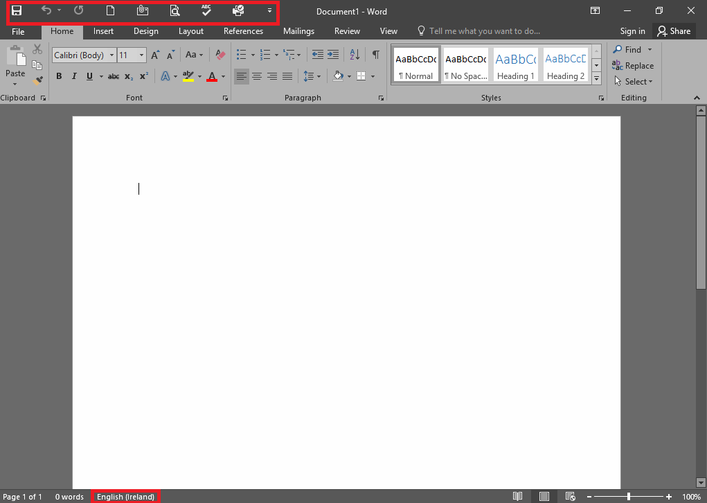 QuickPost: Customizing Office and Outlook 2016 using