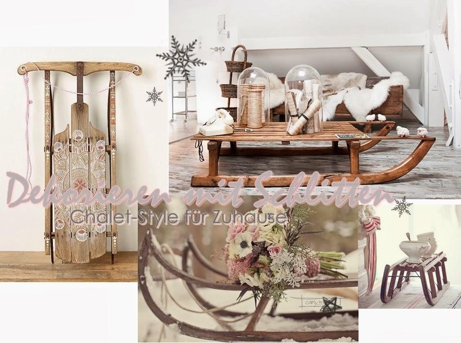 Dekorieren-mit-Schlitten-als-Tisch-Chalet-Style-Zuhause