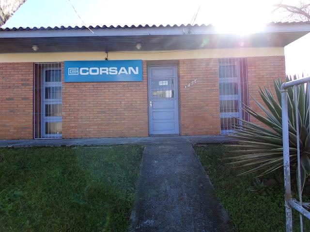 Escritório da Corsan é arrombado em São Vicente do Sul