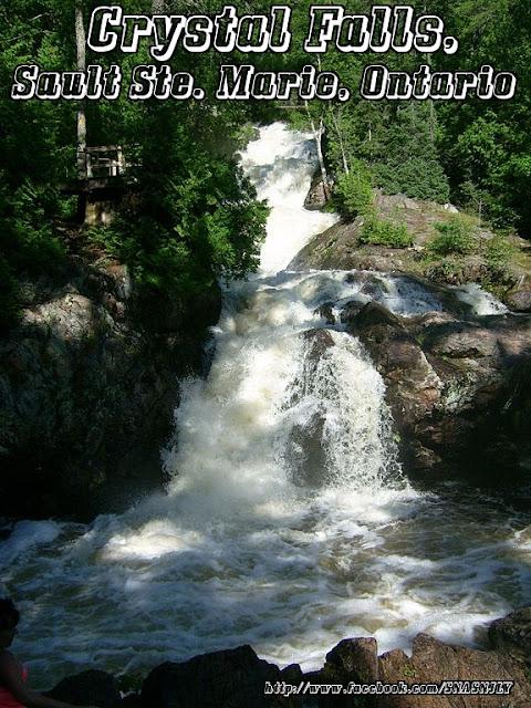 Crystal Falls, Sault Ste Marie, Ontario,Beautiful scenery