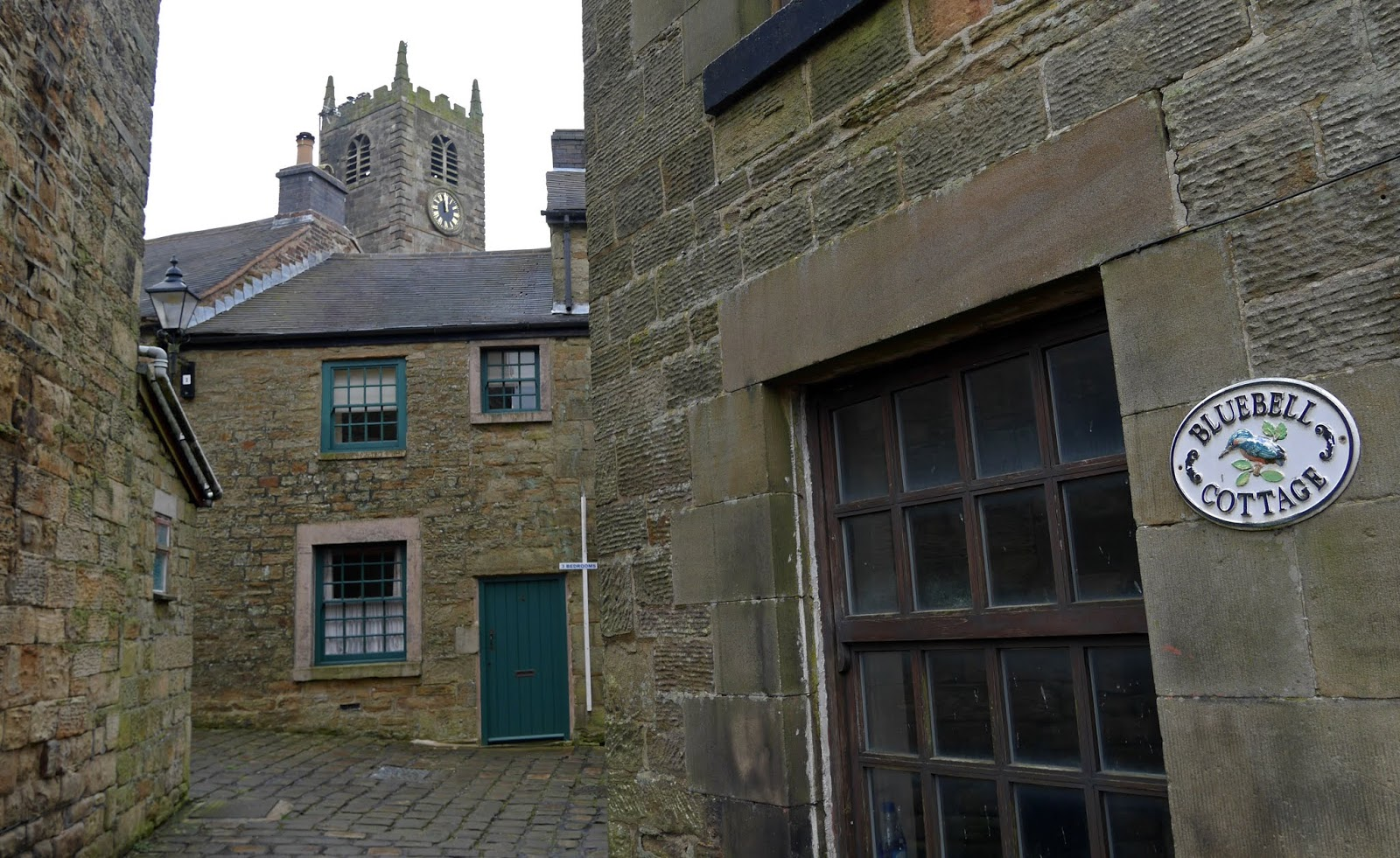 Architecture in Longnor, Peak District National Park