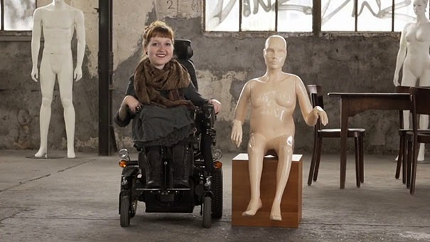 mannequins with disabilities
