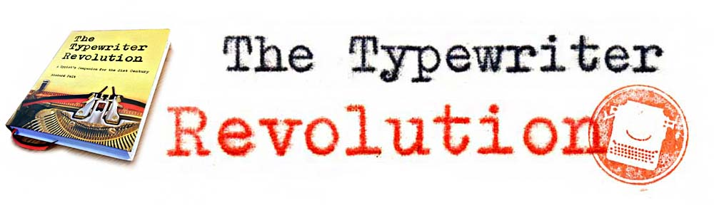 The Typewriter Revolution blog