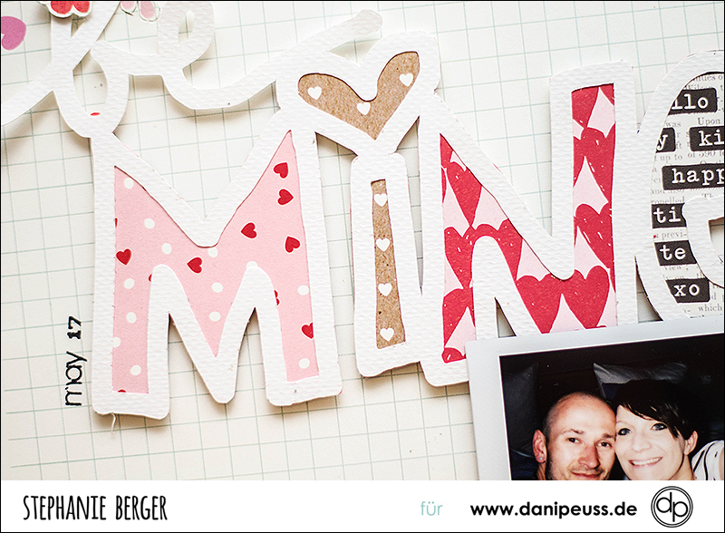 Stephanie Berger - Scrapbooking - Dani Peuss - Just Nick-  Be Mine