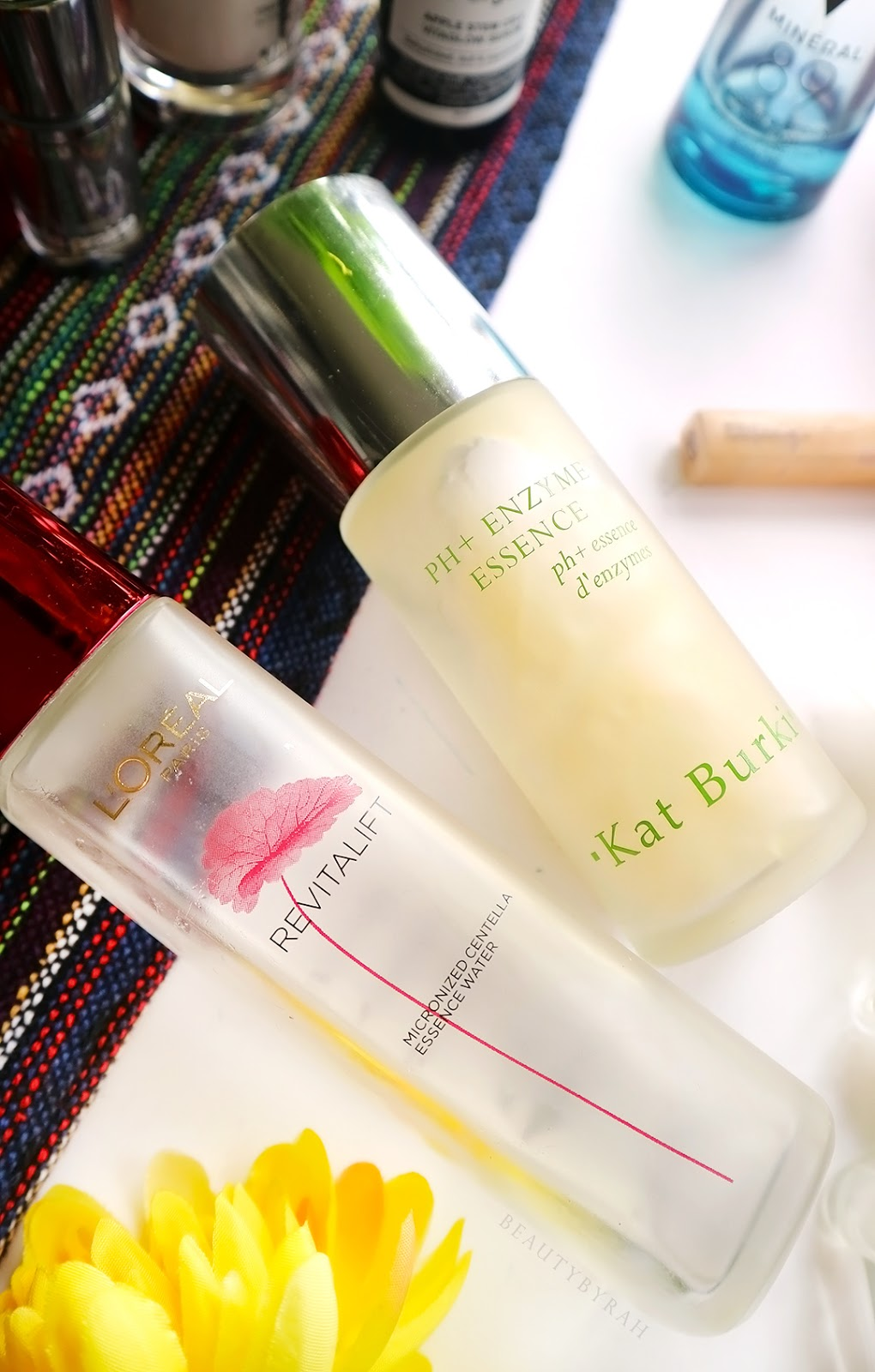 Kat Burki PH+ Enzyme Essence and Loreal Revitalift Micronised Centella Essence Review