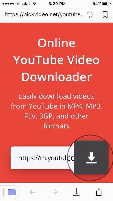 كيفية تحميل وحفظ يوتيوب فيديو على ايفون وايباد