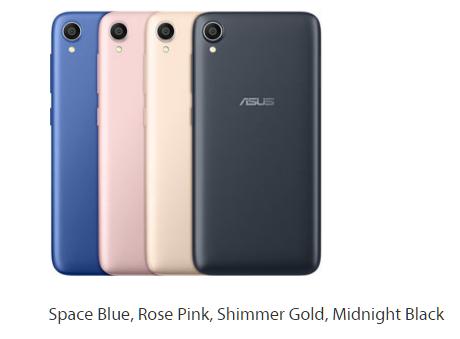 Varian warna Asus Zenfone Live L1