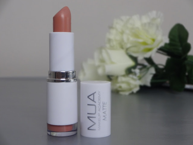 MUA Matte Lipstick Totally Nude Review