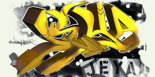 How to Make a 3D Graffiti Piece