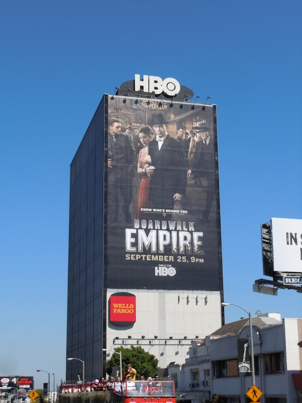 Boardwalk Empire season 2 billboard