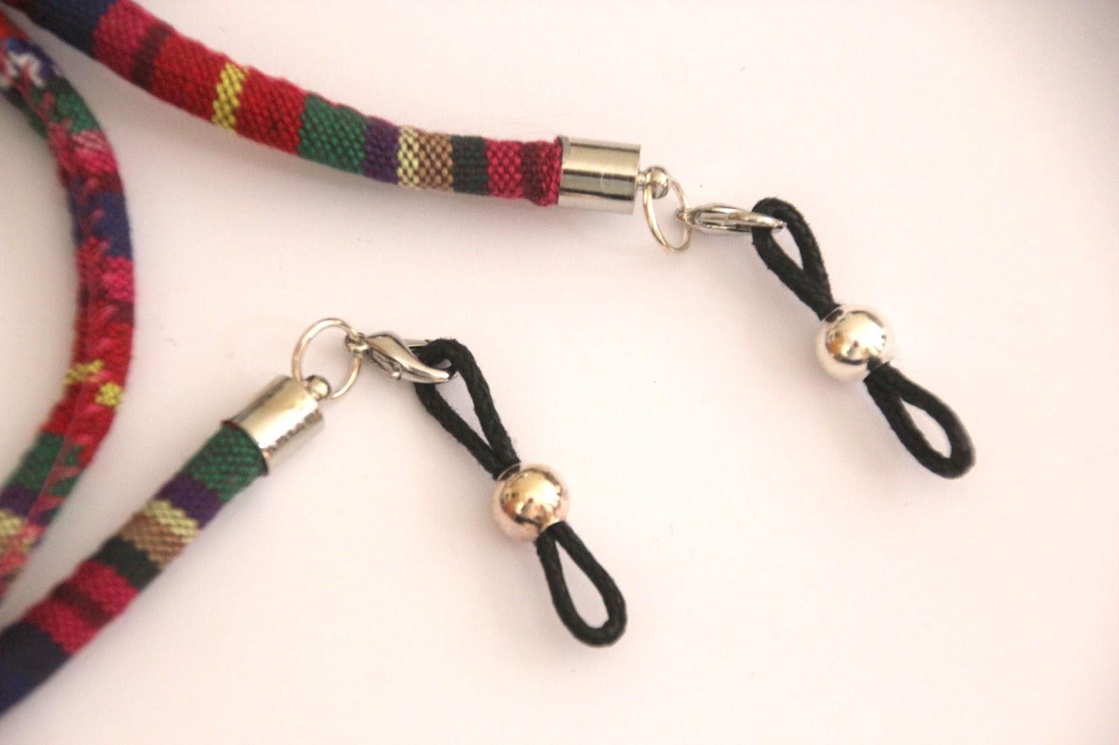 bf2dab0da0 DIY Cordón de gafas étnico | | Oh, Mother Mine DIY!!