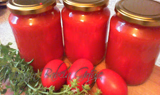 całe pomidory w zalewie