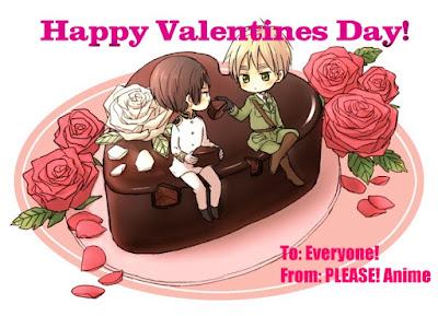 Please anime anime valentine cards - Happy valentines day anime ...