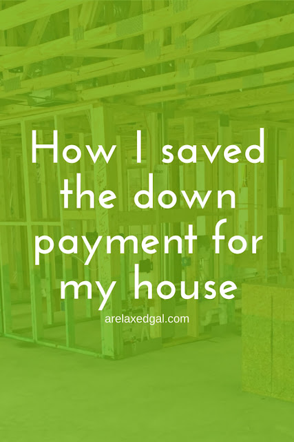 See which financial tactics I used to save much as possible for the down payment for my home. | arelaxedgal.com
