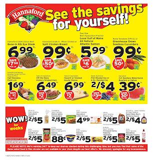 ⭐ Hannaford Flyer 7/12/20 ⭐ Hannaford Weekly Ad July 12 2020