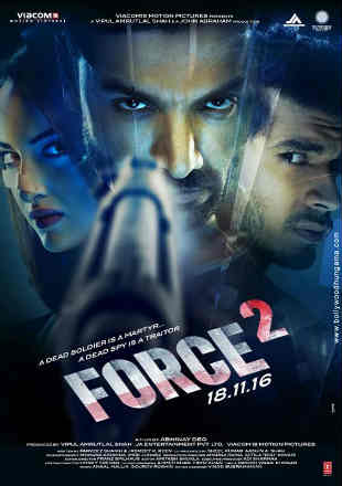 Force 2 2016 Full Hindi Movie Download HDRip 720p 1Gb