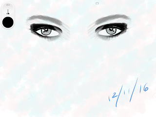 Eyes on Sketchbook App