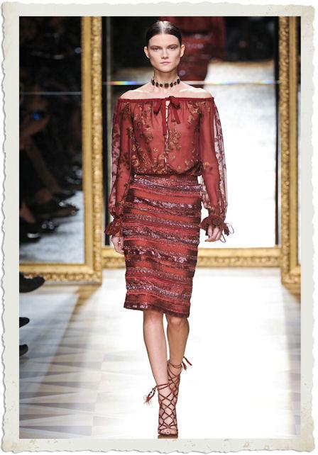 vestirsi di rosso secondo Salvatore Ferragamo