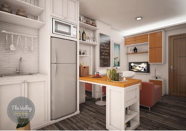 Kitchen Set Minimalis Mewah Dan Elegant Desain Interior