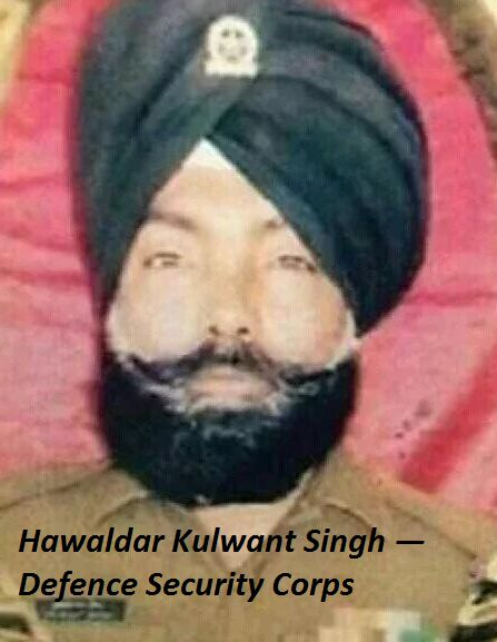 Corporal Gursewak Singh (Garud Commando Force) Pathankot Terror Attack Martyr(killed, dead indian army man, soldier)
