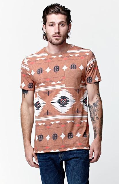 LongLine T-Shirt e Oversized Tee, como usar camisa masculina étnica, camiseta étinica étnica masculina