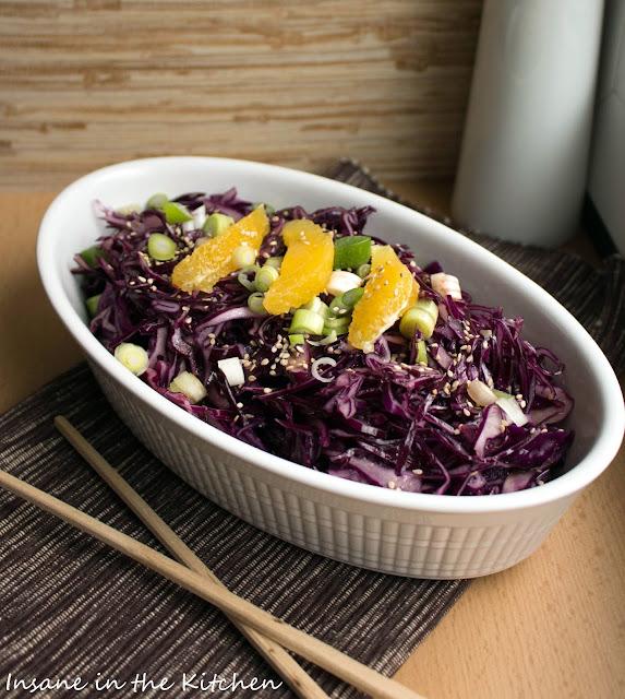 Rotkohlsalat, Salate,