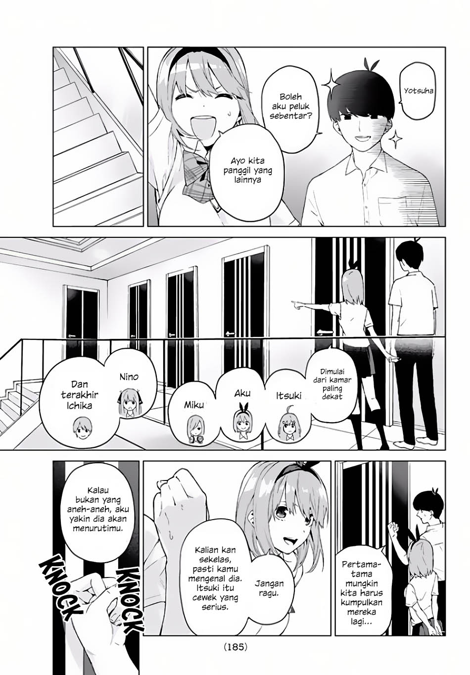 Go-toubun No Hanayome Chapter 2