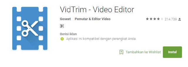 VidTrim – Video Editor