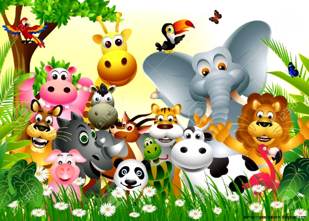Wild Animals In Jungle | Amazing Wallpapers