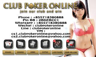 Website Club Poker Online Indonesia dengan game terlengkap Info Situs Agen Judi Online Dengan Koleksi Game Terlengkap
